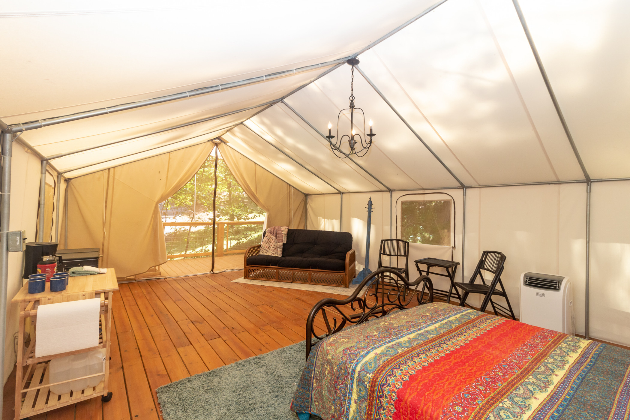 Glamping at Copperhill - The Miner