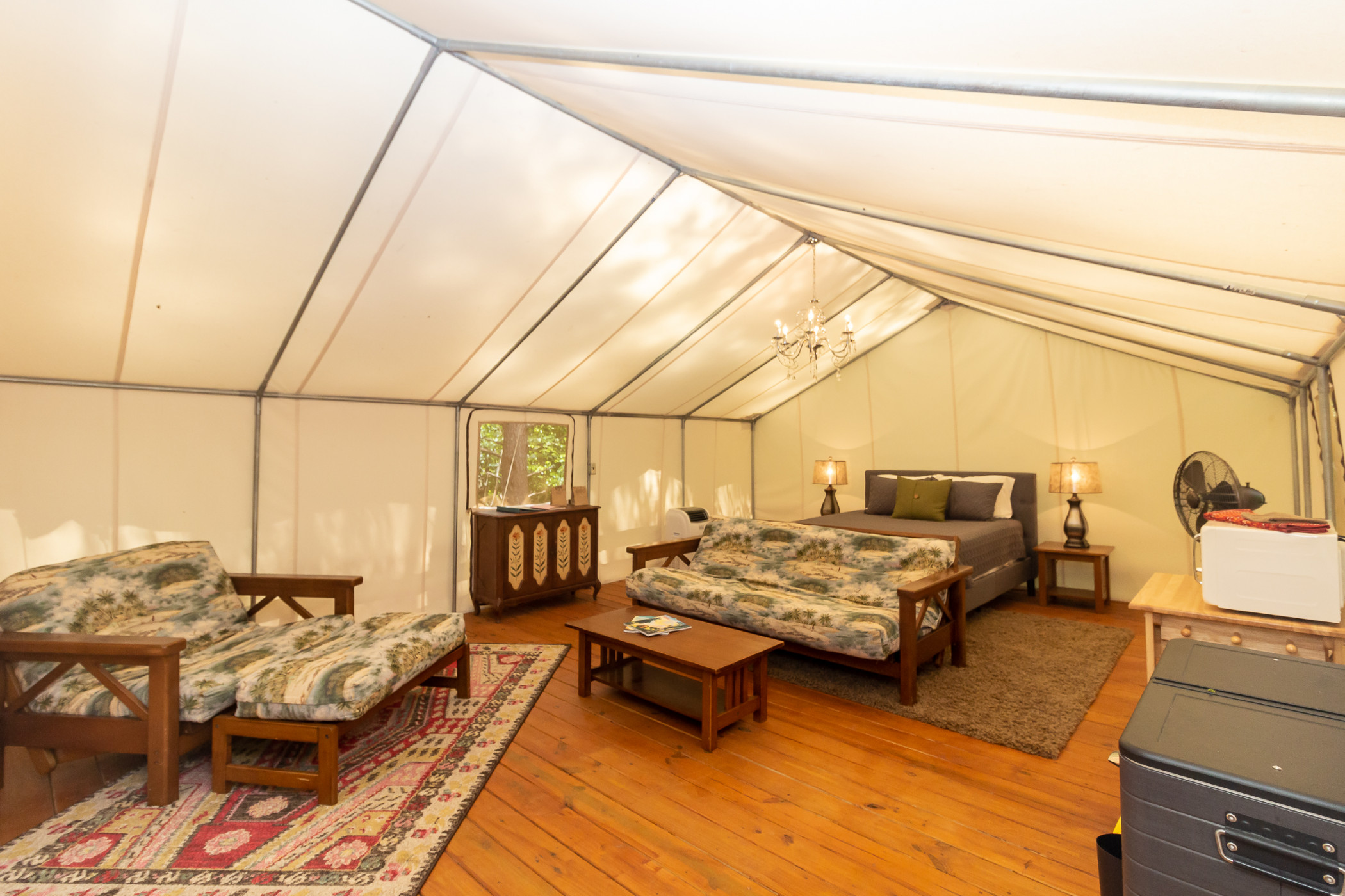 Glamping at Copperhill - The Prospector