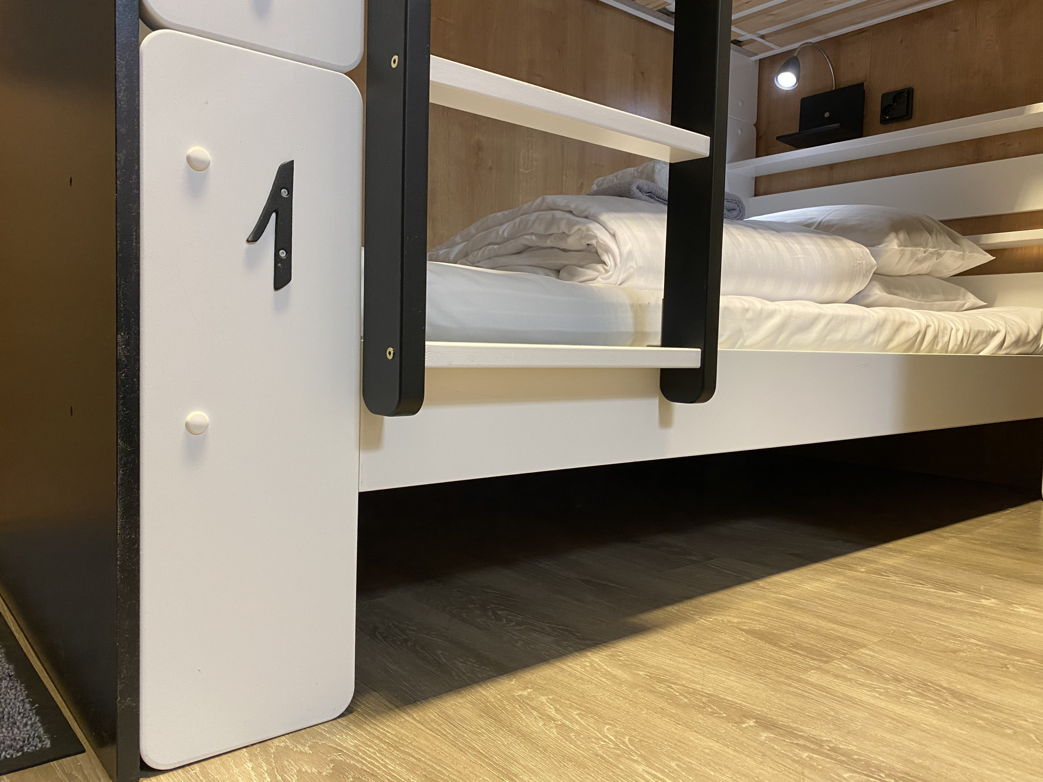 Time Hostel dormitory room 7 Bed 1