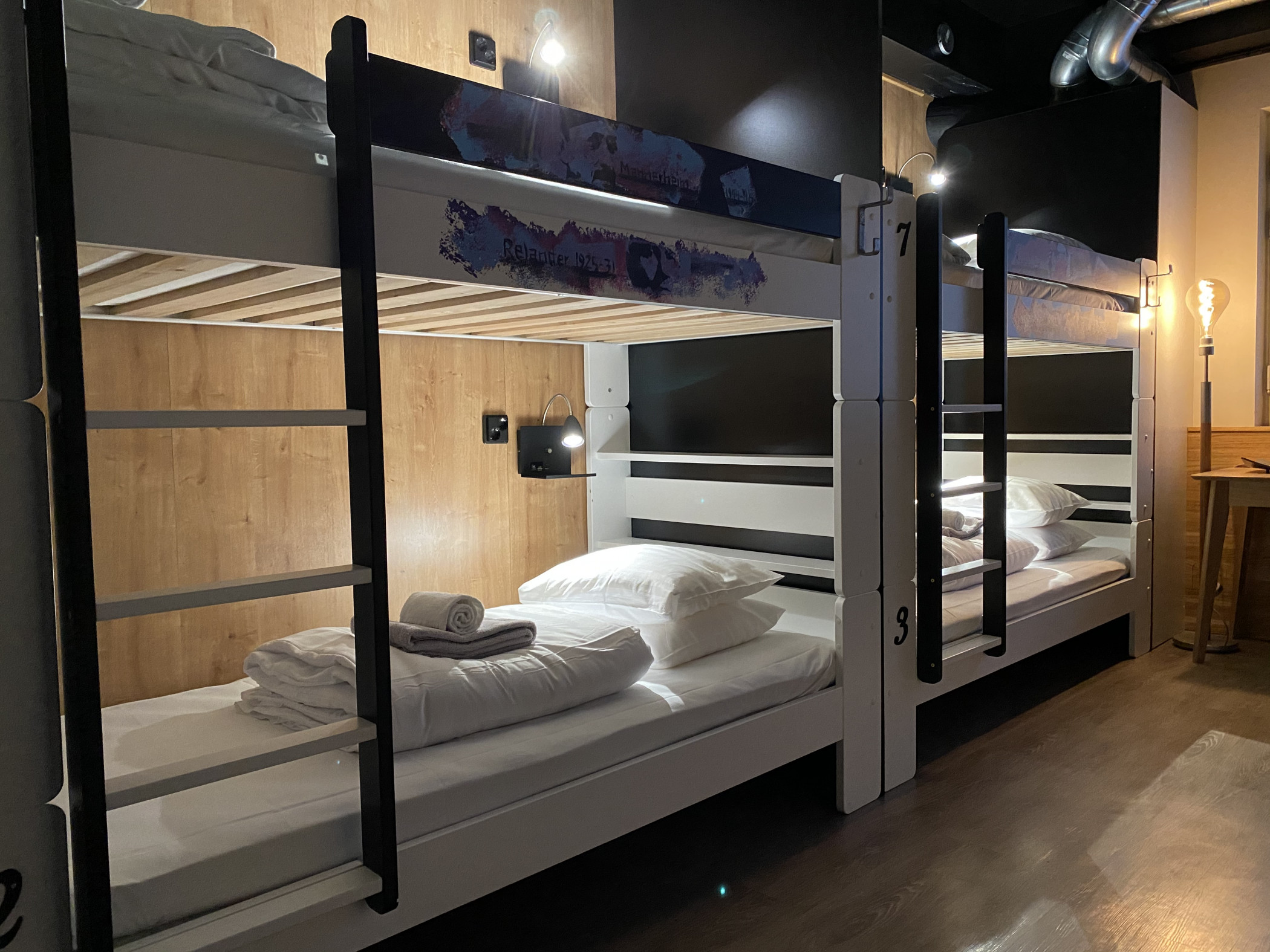 Time Hostel dormitory room 7 Bed 2