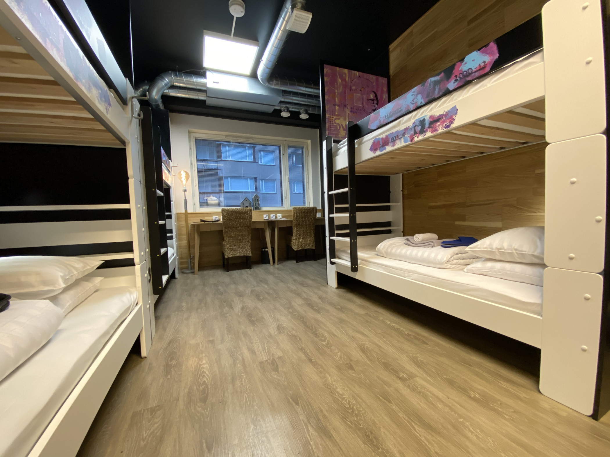 Time Hostel dormitory room 7 Bed 3
