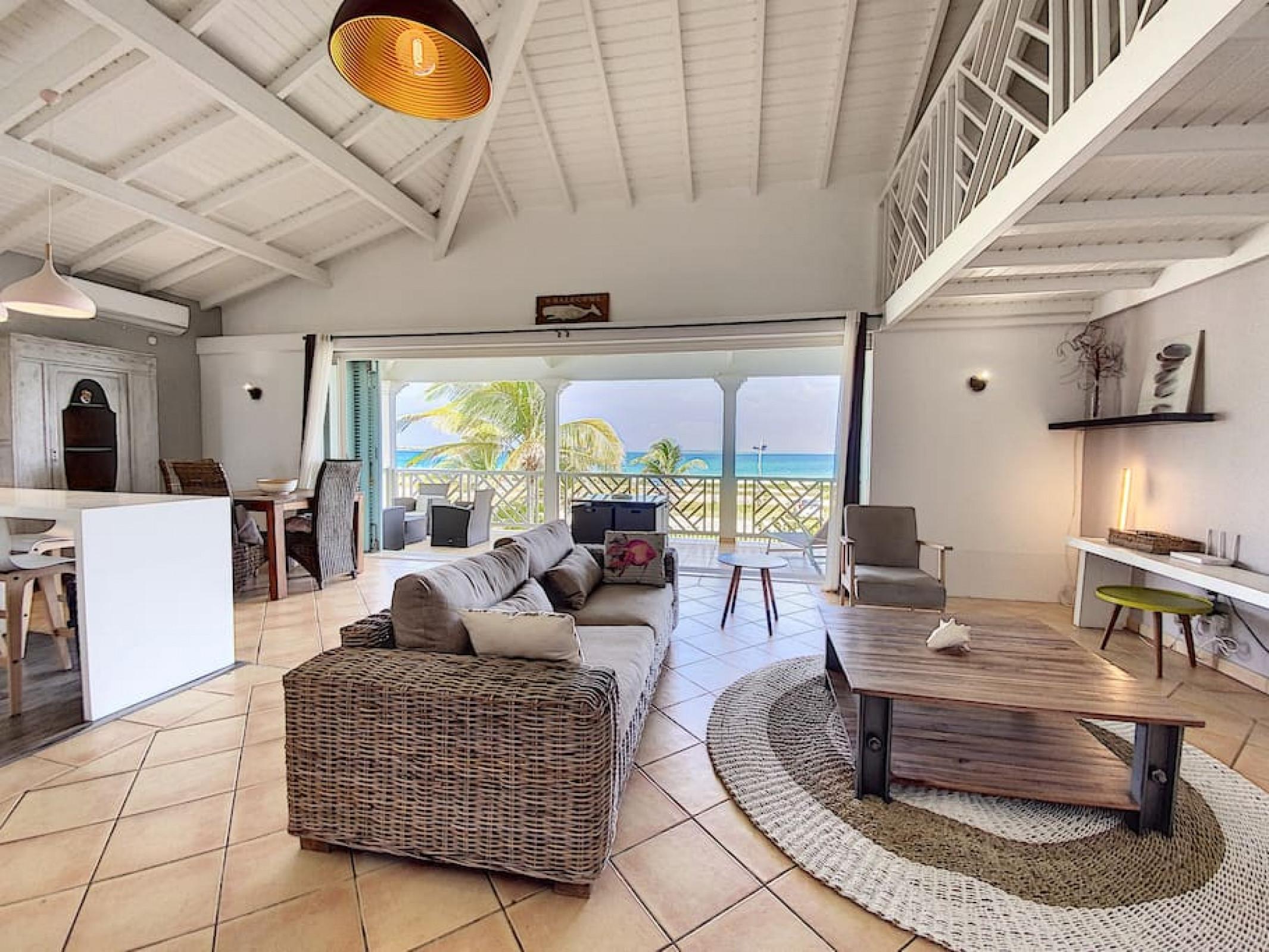 Princess Manon · Superbe appartement sur la plage d'Orient Bay, Piscine