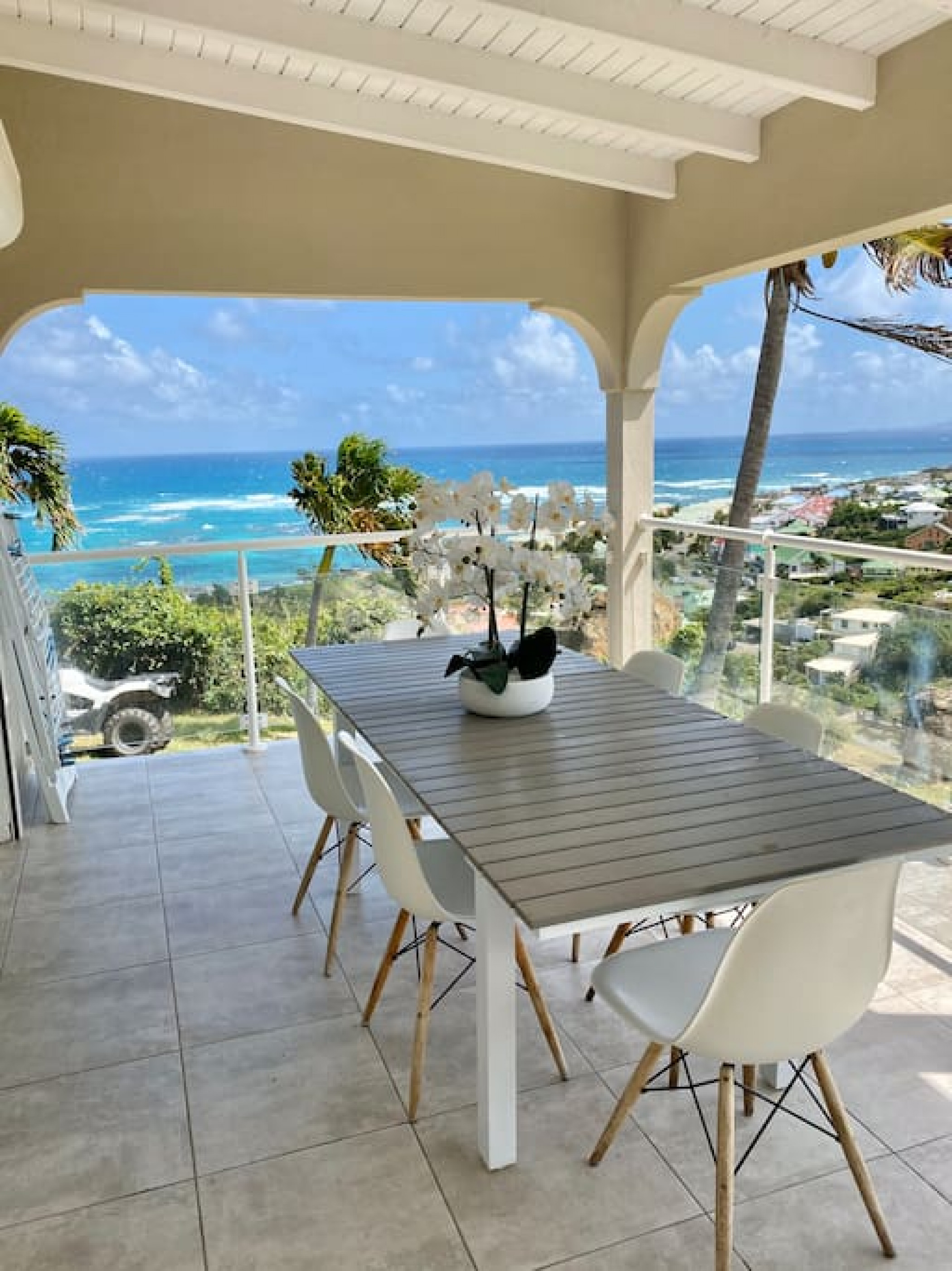 Entre ciel et mer, vue féerique des Caraïbes V5