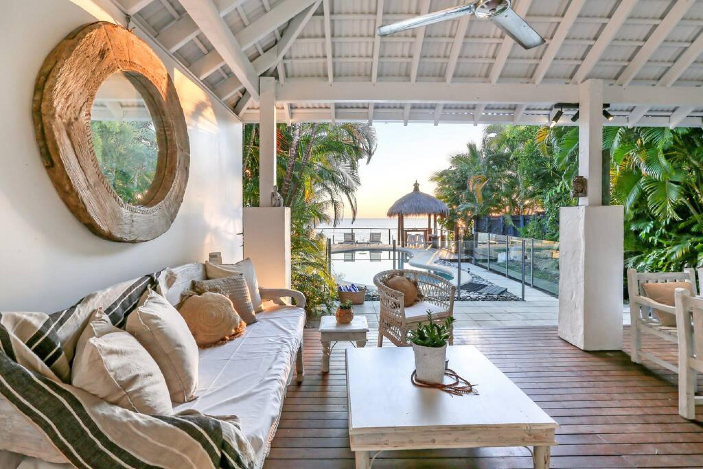 Mylara Beachfront Holiday Home