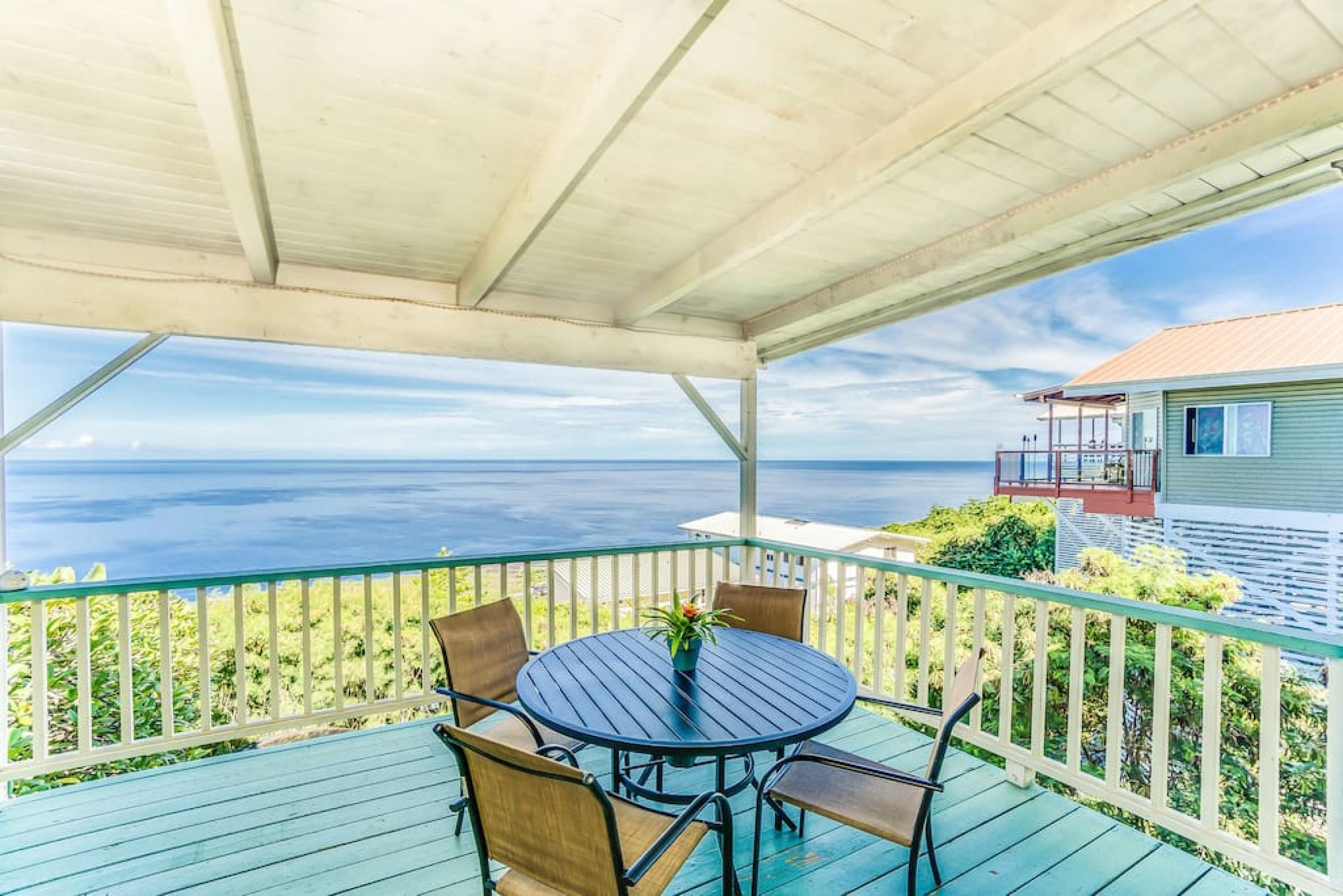 Kona Paradise - Stunning Ocean Views from Lanai - Captain Cook, Hawaii