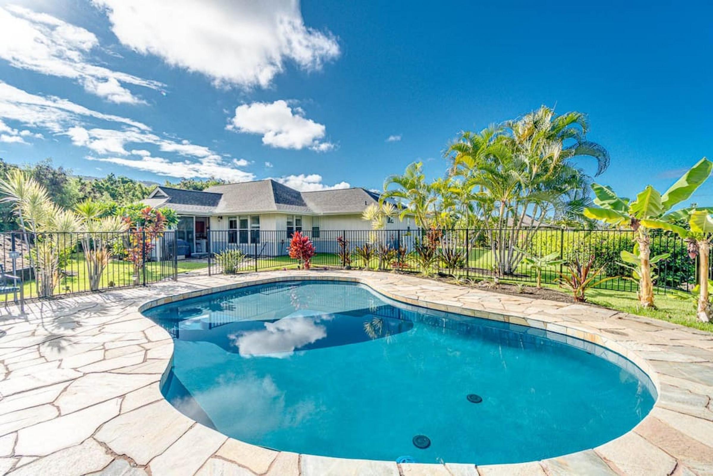 Spacious 3 Bed 2.5 Bath House in Kahakai Estates